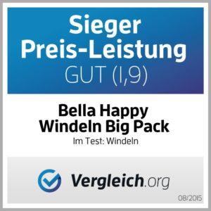 Bella Baby Happy Windeln Zertifikat