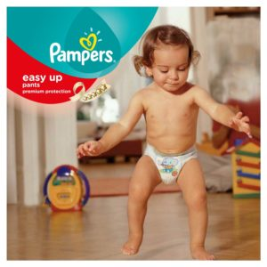 Pampers Easy Up Tragebild